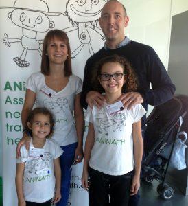 Laura Canals i família