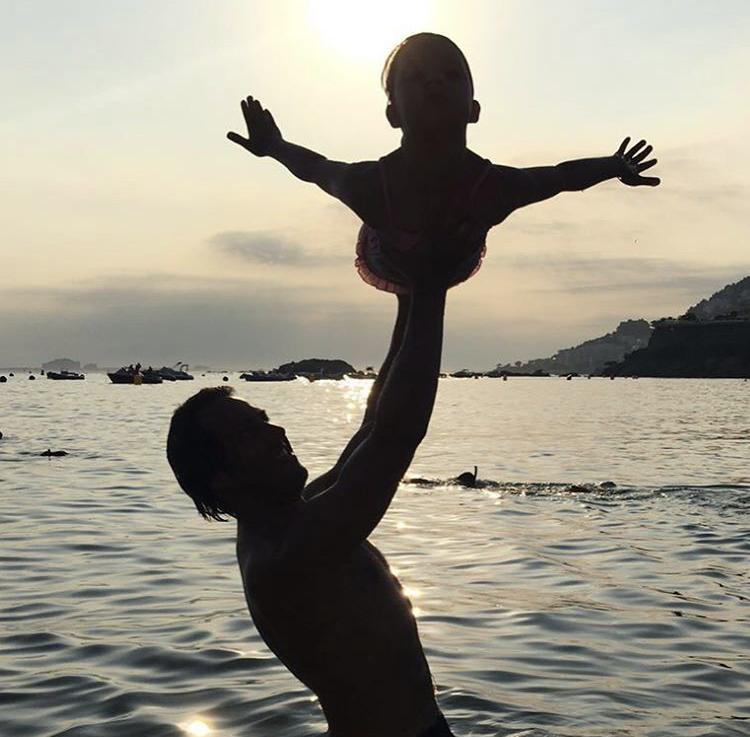 Marc Guitart, pare de nena amb càncer