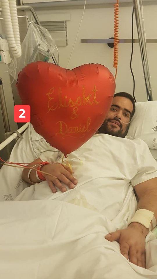 Dani Avilés, trasplantat de cor